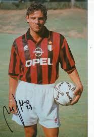 Kelocks Autogramme   Marco Simone AC Mailand Fußball Autogramm Foto  original signiert