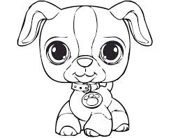 Small Picture Littlest Pet Shop coloring pages for kids to print for free