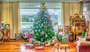 Christmas Decorations Design Free Images indoor holiday christmas tree interior design 44