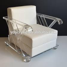 lucite acrylic furniture. Top Kualitas Akrilik Ruang Tamu Furniture Hot Sale PMMA Lucite Acrylic Sofa Kursi Dengan Bantal