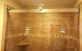 bathtub doors sliding tub shower for inspirations installation levity kohler frameless