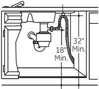 the most common dishwasher installation defect dishwasher drain loop diagram
