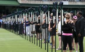 Pictures: Phillip Hughes funeral