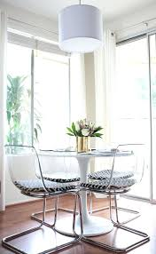 alluring round dining table and chairs clear room new picture image of ikea white im