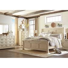 Queen Bedroom Signature Design By Ashley Bolanburg Queen Bedroom Group Wayside