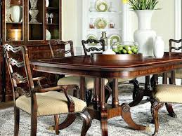 henredon dining table chairs