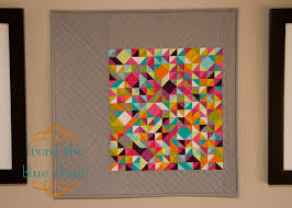 100 Days – Week of Tools – Featured Quilt 3 | The Modern Quilt Guild & Thangles Mini by Kati Spencer Adamdwight.com