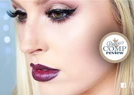 sultry eyes dark lips edgy ballroom dance peion makeup tutorial