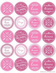 Label Design Templates Round Valentines Day Themed Printable Label Design Label