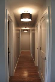lighting for hallway. contemporary interior lighting design with drum shades hallway black fabric and for e