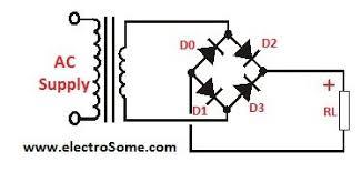 transistor as a switch bridge rectifier