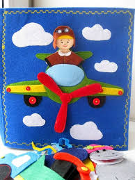 airplane quiet book page the rest of the quiet book is adorable professions little dollhouse and other things