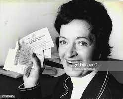 Lotteries -- Mrs. Lorna Prince, the Supervisor at the David Jones... News  Photo - Getty Images