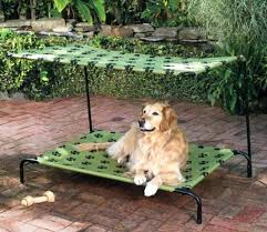 improvements cot style outdoor dog beds with canopies bed connection replacement cover bed outdoor dog heated highlands