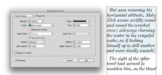 box a paragraph in indesign
