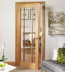 worcester internal clear glass living room door