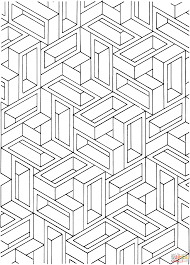 Small Picture Optical illusion coloring pages to download and print for free
