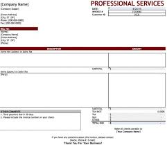 Template For Invoice For Services Invoicing Services Rome Fontanacountryinn Com
