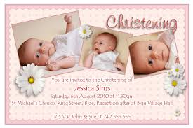 newborn baby announcement sample christening invitation for baby girl blank template oxyline