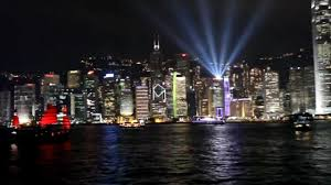 What Time Is The Light Show In Hong Kong