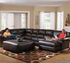 sectional sofa with chaise. Gorgeous Oversized Leather Sectional Sofa Chaise Lounge Modern With