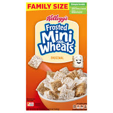 frosted mini wheats cereal original