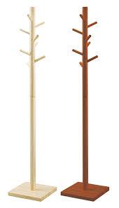 Simple Wood Coat Rack istudio Rakuten Global Market Branch pole stand PH100 lt 90