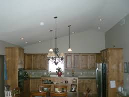 Amazing Recessed Lighting Vaulted Ceiling Kitchen Island