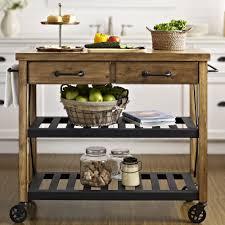 kitchen island cart industrial. Industrial Kitchen Island (Crosley Cart With Wood Top I Wayfair.com)