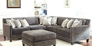 gray sofa with nailhead trim grey sectional leather for your home inspirations 19