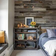 barn wood plank accent wall design ideas