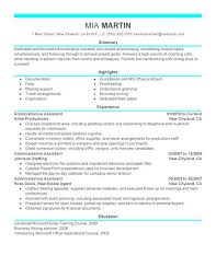 Back Office Resumes Support Resume J O Assistant Skills