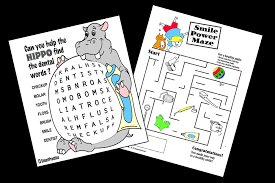 Download activity sheets, coloring pages, crossword puzzles, games and seasonal materials to help teach about dental health. Free Kids Dental Coloring Sheets Printable Activity Pages About Teeth
