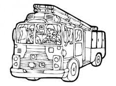 Small Picture Fire Station Coloring Page from TwistyNoodlecom Fire Prevention