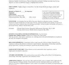 Objective For Teacher Resume Bestresume Com