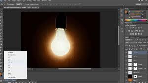 light bulb animation in photo cs6