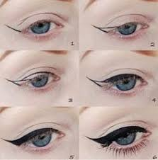 cat eye in case you were wondering how to dramatic eyeliner