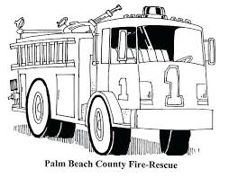 Fire Truck Coloring Pictures Trucks Coloring Books Free Printable