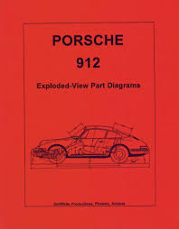 porsche technical manuals porsche 912 exploded view part diagrams 1965 through 1968