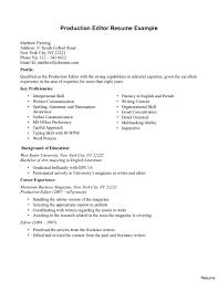 Editor Resume Sample Video Editor Resume Sample 24 Shalomhouseus 15