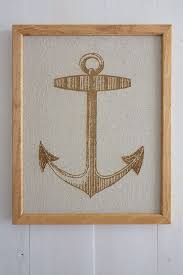 large nautical wall art anchor large nautical engraved canvas print home decor laser engraved art wall