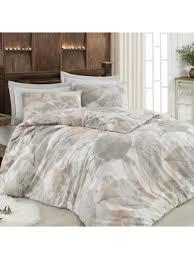 cover set leaf pattern vintage style comfy bedding set share