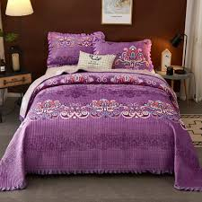 Silk Brocade fabric Purple & Green colour BRO255[5]
