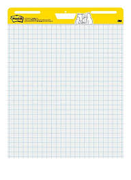 Post It Super Sticky Easel Pad 25 X 30 Inches 30 Sheets Pad 2 Pads 560 Large White Grid Premium Self Stick Flip Chart Paper Super Sticking