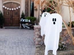 Outdoor <b>Halloween</b> Decoration: <b>Hanging Ghosts</b> | HGTV