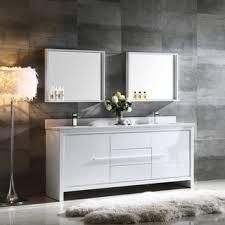 bathroom sink furniture. fresca allier 72inch white modern double sink bathroom vanity with mirror furniture