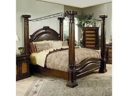 Wood Canopy Queen Bed — Ccrcroselawn Design : Simple Canopy Queen Bed