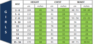 Scout Shirt Size Chart Size Guide