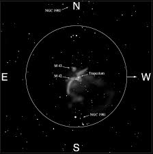 In Orion The Orion Nebula M42 And M43 Cambridge University