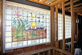 glass block ideas decorated glass blocks